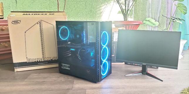 Продам игровой компьютер! RGB Ryzen 5 2600 + GTX1660ti