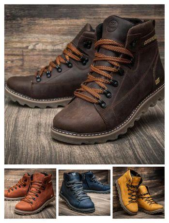 Мужские зимние ботинки CAT | Практичные!