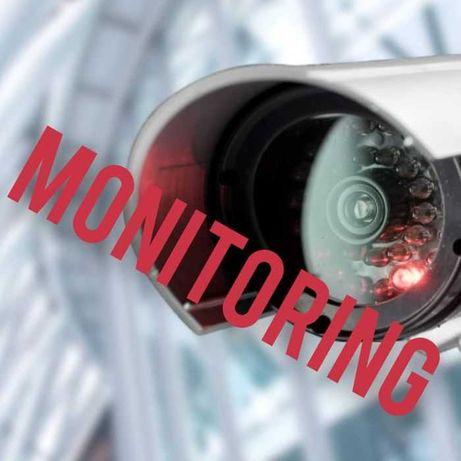 Zestaw Kamer Monitoring Montaż Sprzedaż Ip CCTV WI FI dom posesja