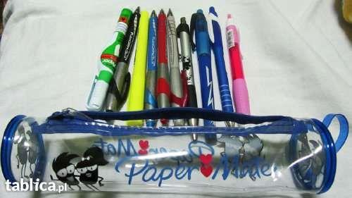 Paper Mate piórnik 10 sztuk długopis ołówek korektor
