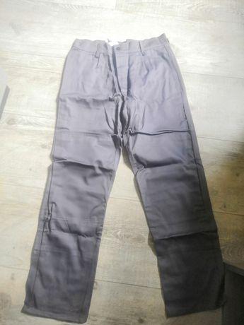 Spodnie robocze spawalnicze, niepalne NOWE