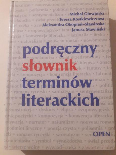 Podręczny słownik terminów literackich Głowiński