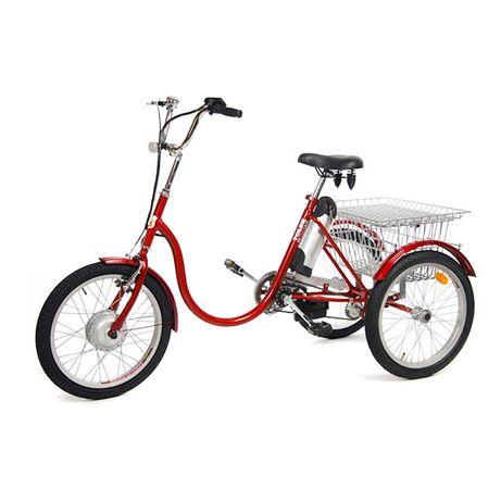 Rower trójkołowy elektryczny