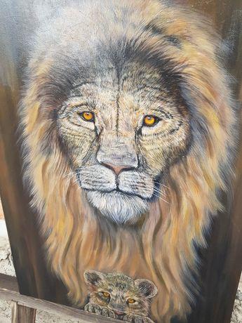 Авторская картина  Лев