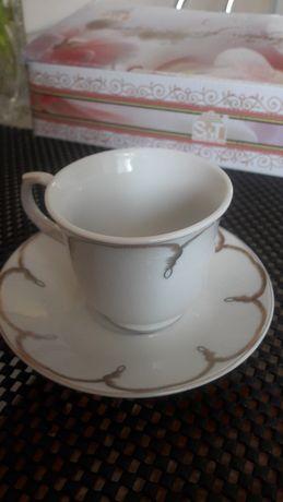Чашки кофейные набор сервиз
