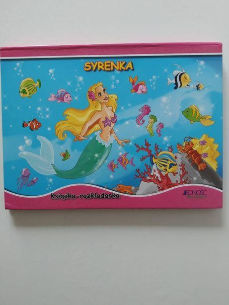 Książka rozkdładanka 3D dla dziewczyni Syrenka