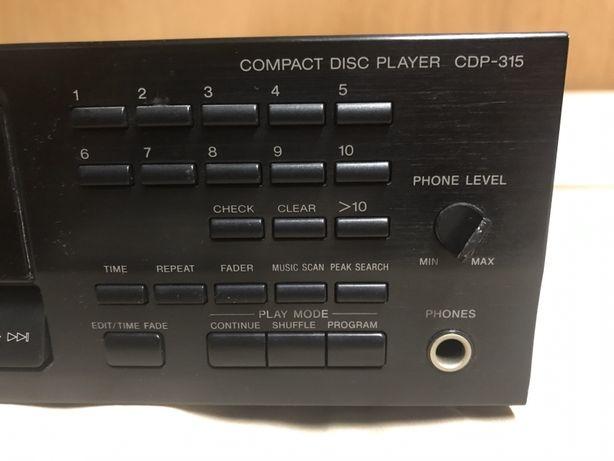 Sony cdp-315 odtwarzacz CD sprawny
