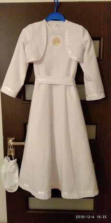 Sukienka, alba komunijna