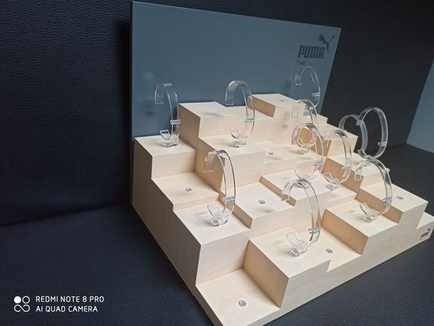 Display stojak na zegarki expozycja puma