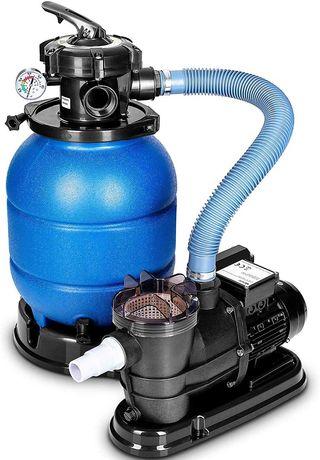 Bomba Piscina com Filtro de areia c/ pré-filtro 10200L/H