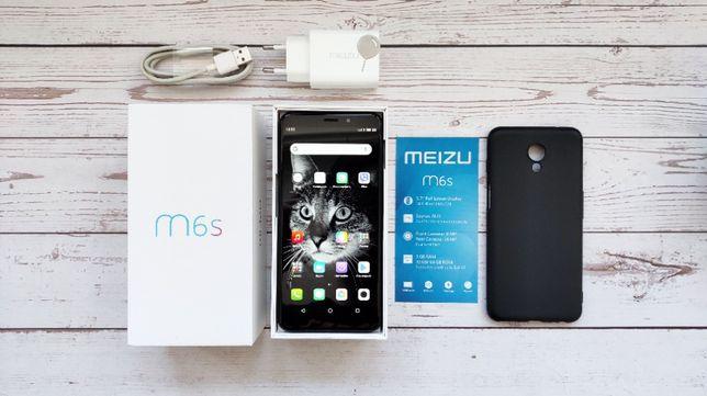 Смартфон Meizu m6s 3/32 Gb в идеале + чехол + доп.кабель