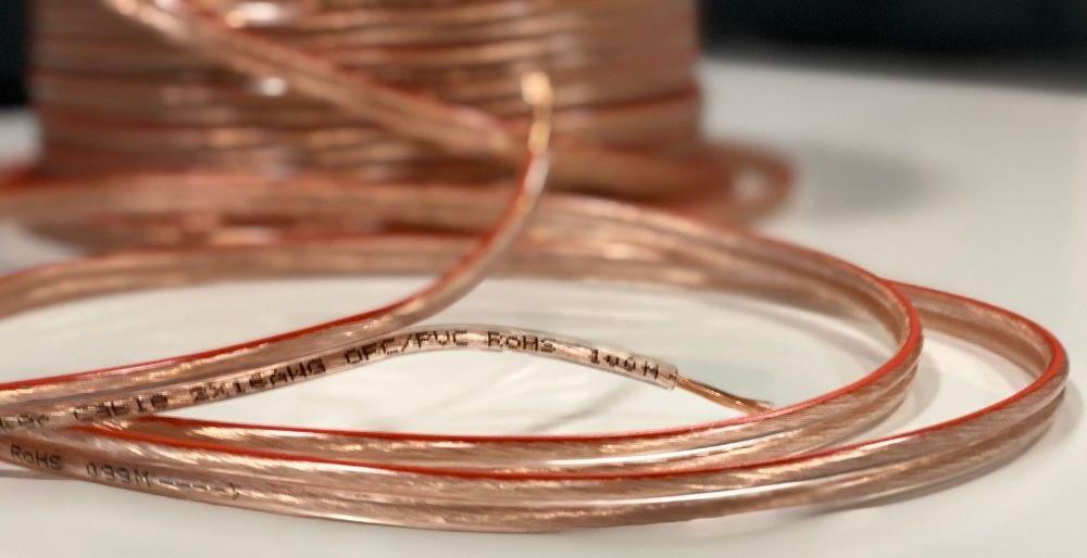 !АКЦИЯ! Акустический кабель 2x1,5mm² медь 99,9% OFC PVC Киев - изображение 1