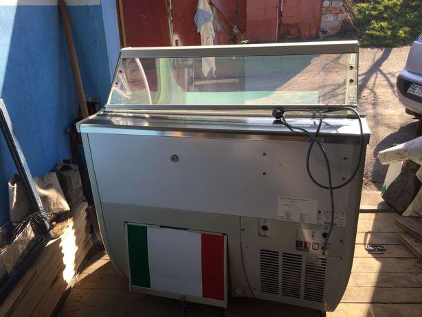 Итальянская Витрина для мягкого мороженого IARP FENICE 103,морозильная