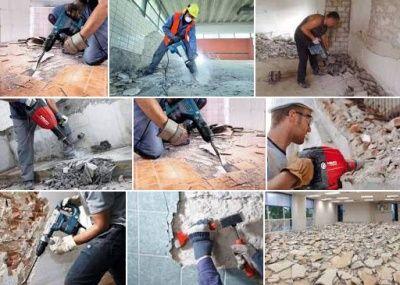 Демонтаж. Демонтажні роботи. Демонтаж стяжки. Демонтаж будівель.