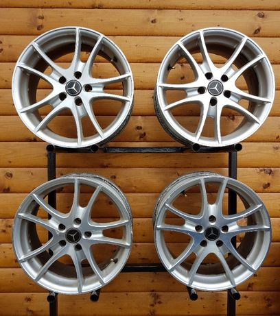 Felgi aluminiowe ACT 5x112 ET 35 R17 MERCEDES VW Audi