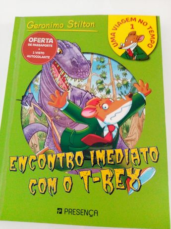 Gerônimo Stilton-Encontro Imediato com o T-rex