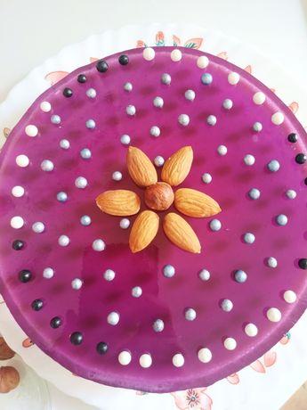 Домашні торти, желейні торти, кекси