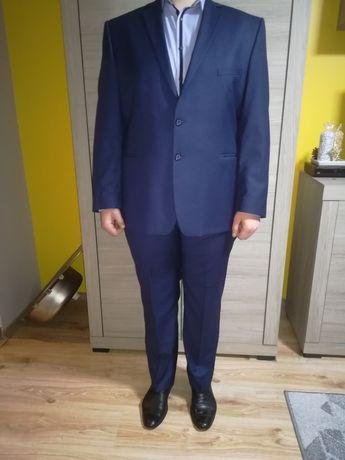 Granatowy Garnitur Giacomo Conti nowy!