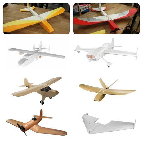RC plane самолёт на радиоуправлении летающие крыло wing frsky flysky