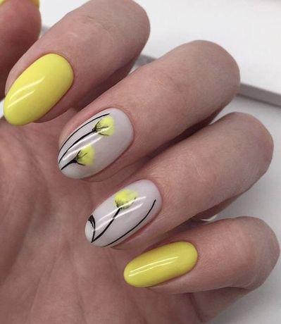 Покритие ногтиков гель лаком