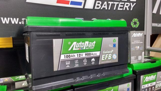 Akumulator AutoPart Galaxy Start Stop EFB 100Ah 900A P+ N95 95Ah 850A