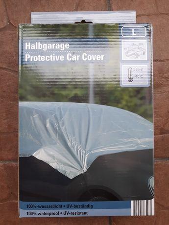 Pokrowiec plandeka zimowa na samochód chroni przed mrozem i szronem