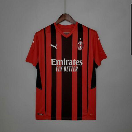 Camisola de Futebol clubes Serie A Juventus Inter AC Milan Parma Roma