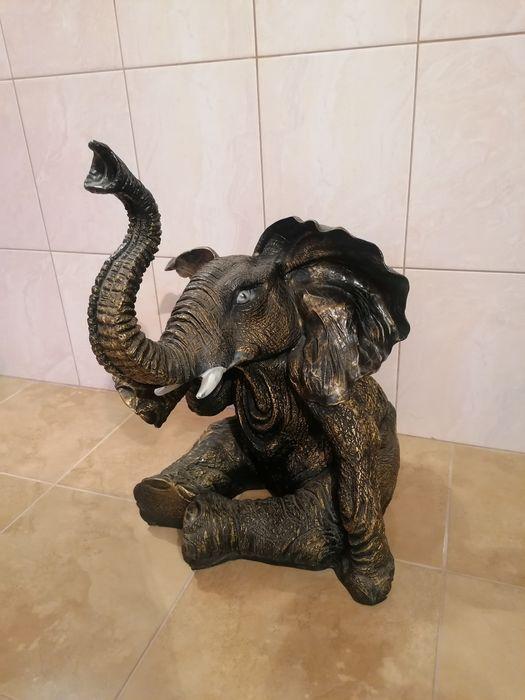 Duży słoń dekoracyjny figurka Sączów - image 1