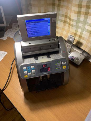 Счётчик купюр, банкнот - Машинка для счета денег Leader KL-2000 TS