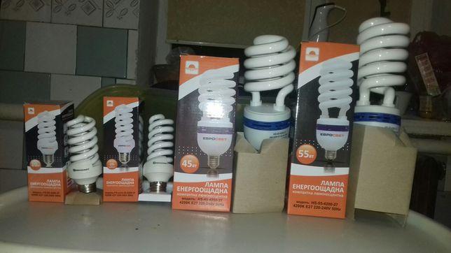 Лампа енергоощадна люмінесцентна 25W 45W 55W