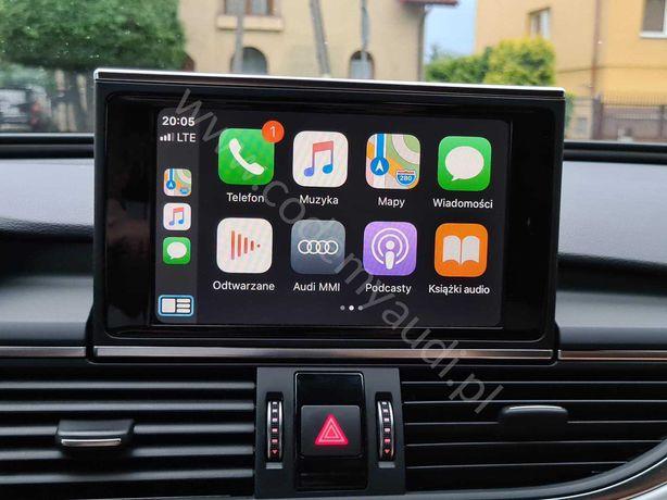 Apple Carplay AndroidAuto Audi A4 A5 A6 Q5 Q7 VW Golf Passat B8 Arteon