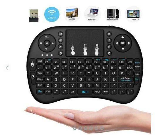 Mini Comando Teclado Wireless Rato Touchpad - PC, SmartTV, Android Box