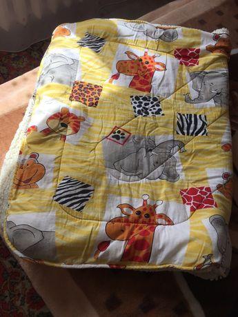 Одеяло на овчине детское