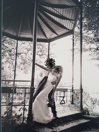 Suknia ślubna syrenka KORONKOWA