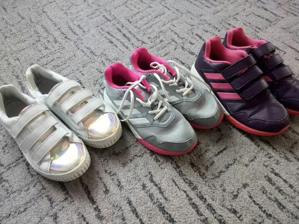 adidas / adidasy/ zestaw butów/ roz 36,5 - 37,5/ wkł 23 cm