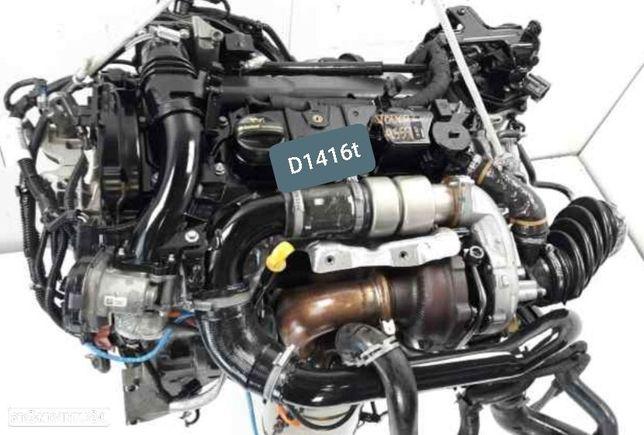 Motor Volvo C30 S40 V50 1.6d 115Cv 8v Ref.D14162T