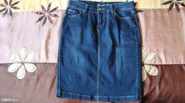 Spódnica jeansowa rozm. 40