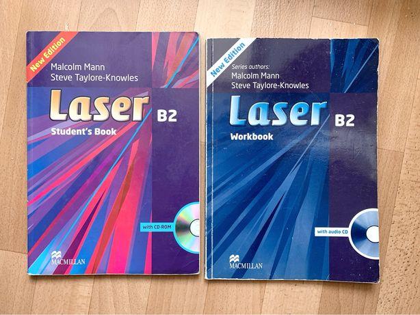 Laser B2 - учебник и рабочая тетрадь по английскому языку