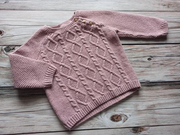 Sweter h&m 80 róż