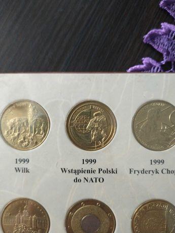 Moneta 2zł 1999 rok Wstąpienie Polski do NATO