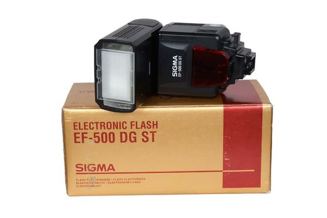 Фотовспышка Sigma EF-500 DG ST для Canon (made in Japan)