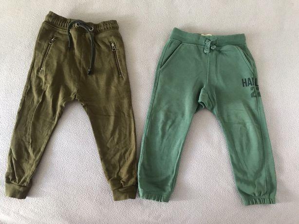 Spodnie ZARA Next bojówki dresy 104 super stan