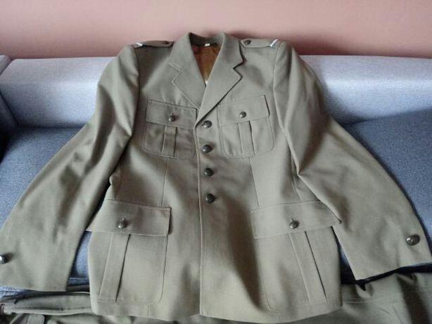 Mundur wojsk lądowych plus płaszcz zimowy