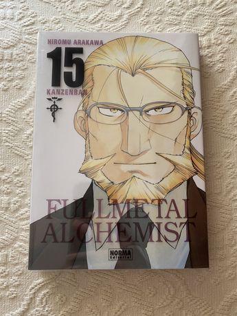 Fullmetal Alchemist vol 15 Ed. Kanzenban Espanhol
