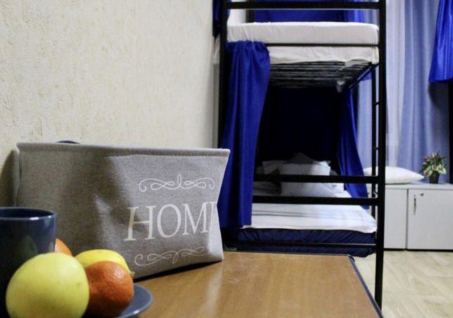 Спальное место в 6-ти местном номере с санузлом, Отель, Лукьяновская