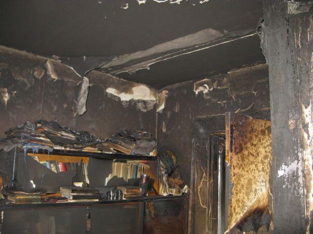 Прибирання, очистка, знищення запаху диму і гару після пожежі