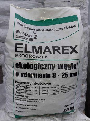 Suchy Ekogroszek workowany ELMAREX 26 MJ opał węgiel Bieżuń Rościszewo