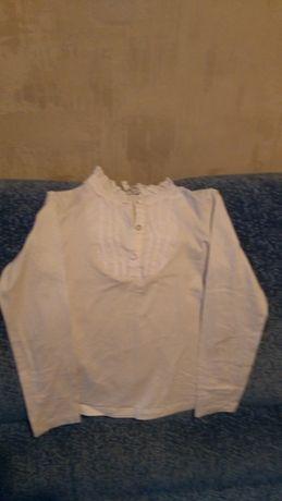 Блузка школьная р. 140- 146