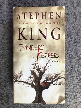 """Livro """"Finders Keepers"""" - Stephen King"""