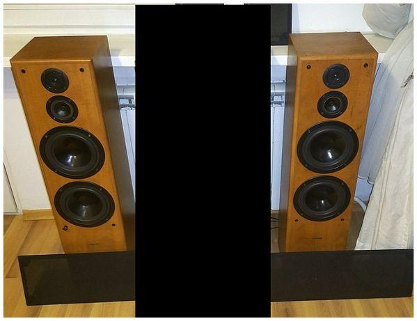 Kolumny Stereo Hi-Fi Podłogowe Tonsil Fenix Front Calvados 250W 8Ω